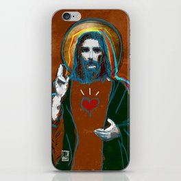 Jesus Christ: Daily Bread - Brown iPhone Skin
