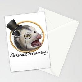 Awkward Opossum Stationery Cards