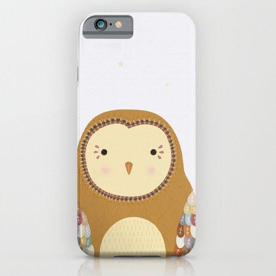 Autumn the Owl iPhone & iPod Case
