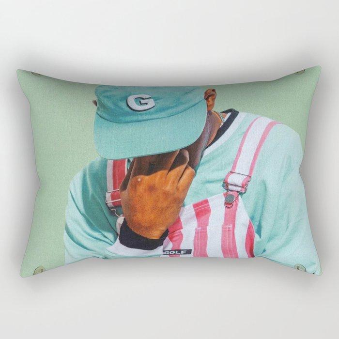 Tyler, The Creator - Flower Boy Rectangular Pillow
