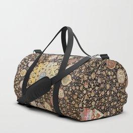 Ardabil Persian Safavid Carpet Print Duffle Bag
