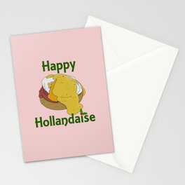 Happy Hollandaise (Happy Holidays) Stationery Cards