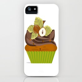 Hazelnut Cuppycat iPhone Case