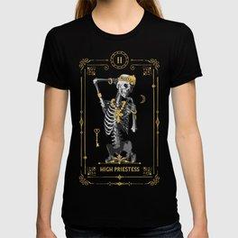 High Priestess II Tarot Card T-shirt