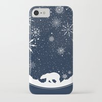 globe iPhone & iPod Cases featuring Snow Globe by Tobe Fonseca