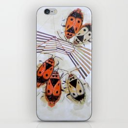The measurement of space. Bedbugs iPhone Skin