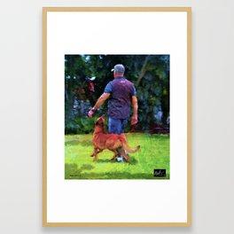 Raising Kane Heeling Framed Art Print