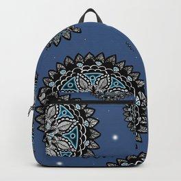 Galaxy Inspired Patterned Mandalas Backpack