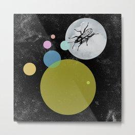 Moonwalking Metal Print