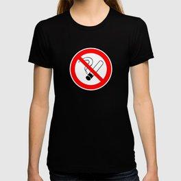 No Smoking Sign T-shirt