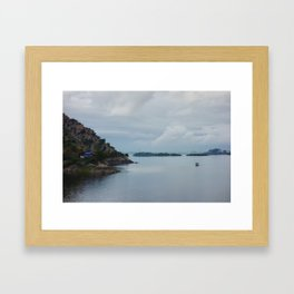 Jaisamand Lake Framed Art Print