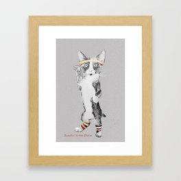 Sweatin' to the Oldies Framed Art Print