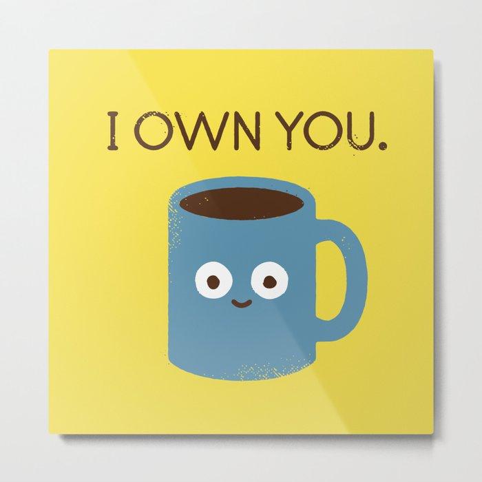 Coffee Talk Metal Print