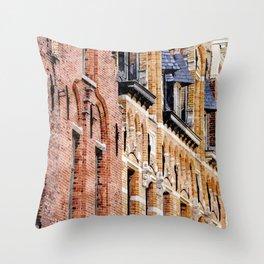 Pure craftsmanship Throw Pillow