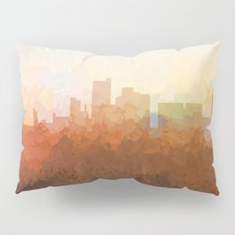 Lubbock, Texas Skyline - In the Clouds Pillow Sham