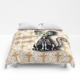 Dia de los Muertos - El Gato Comforters