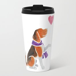 Watercolour Beagle Travel Mug