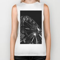 carnival Biker Tanks featuring Carnival by Maya Cotton