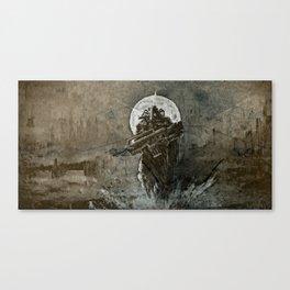 Earth Unrelenting Canvas Print