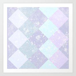 PACK ICE | PURPLE FROST Art Print