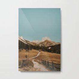 Mont Thabor/// Gran Séru Metal Print