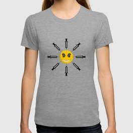 Smile Bitcoin Has Been Injected T-shirt
