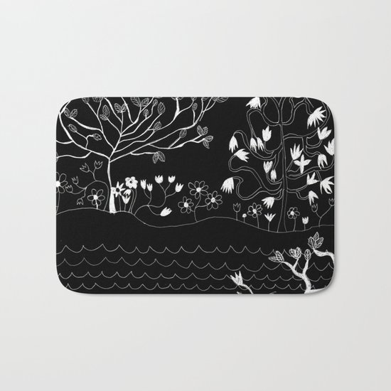 Perfect Imperfection (Inverted version) Bath Mat