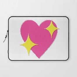 Sparkling Heart Laptop Sleeve