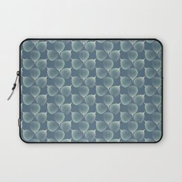 The Silver Breath of Winter Laptop Sleeve
