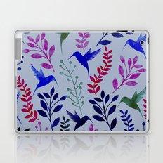 Watercolor Floral & Birds Laptop & iPad Skin