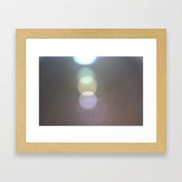 Light Prism Reflection Photo Art Design Framed Art Print