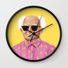 The Israeli Hipster leaders - David Ben Gurion Wall Clock