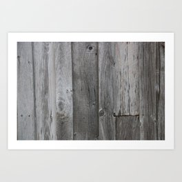 Barn Wood Art Print