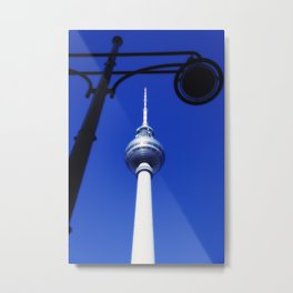 Berlin TV Tower No.3 Metal Print