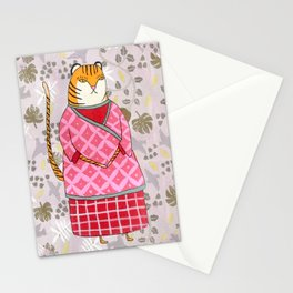 Mongolian Tiger Stationery Cards