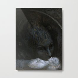 Paralyzed Metal Print
