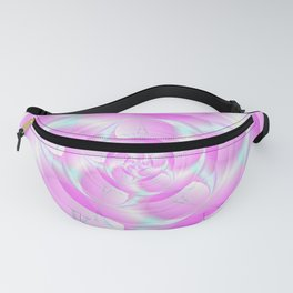 Spiral Pincers in Pink and Blue Fanny Pack