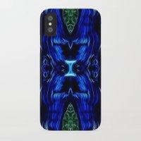 malachite iPhone & iPod Cases featuring Azurite - Malachite by Lucia
