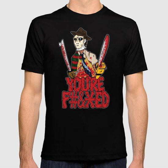 Slasher Mash (NSFW) T-shirt