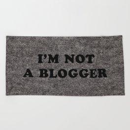 Blogger Beach Towel