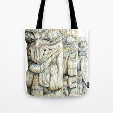 Haida Totems Tote Bag