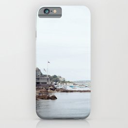Massachusetts Fishing Village iPhone Case