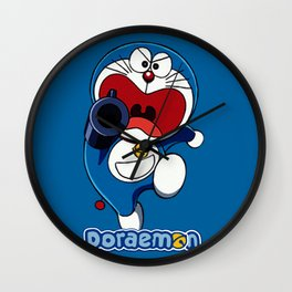 DOraemon Gunner Wall Clock