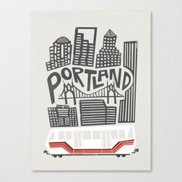 Portland Cityscape Canvas Print
