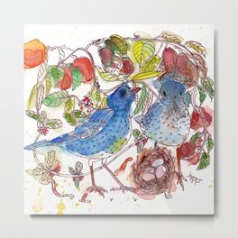 Song Birds Metal Print