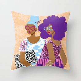 The Terrific Two Throw Pillow