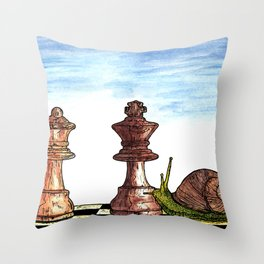 The Longest Game Throw Pillow
