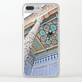 Wonders of the Silk Road - Khiva Clear iPhone Case