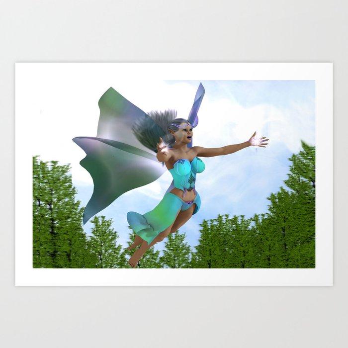 Fairy Air Art Print