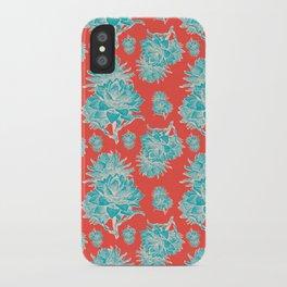 Artichoticka Cyan iPhone Case